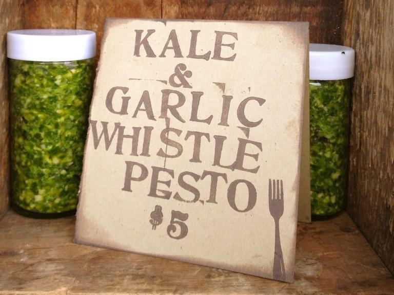 Kale and Garlic Pic