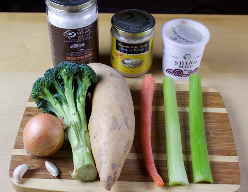 Veggie roast ingredients