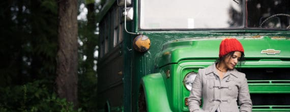Romina infant of Green Bus