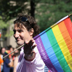 Justin Trudeau at Pride