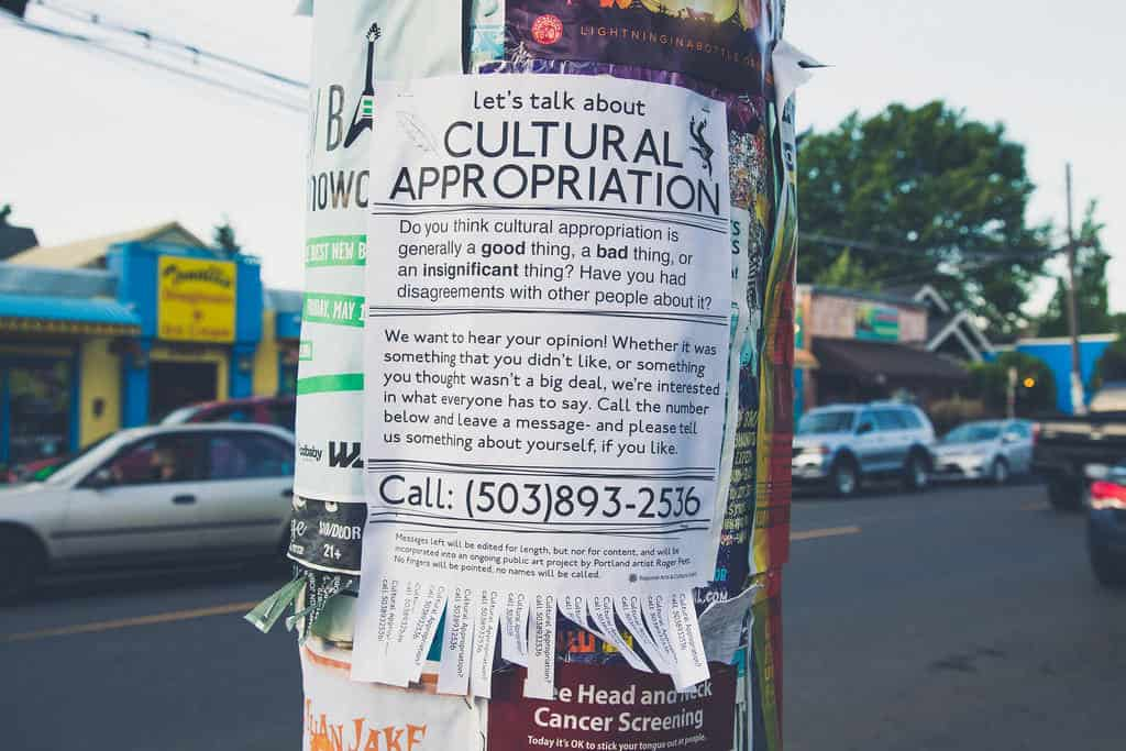 Cultural Appropriation Flyer