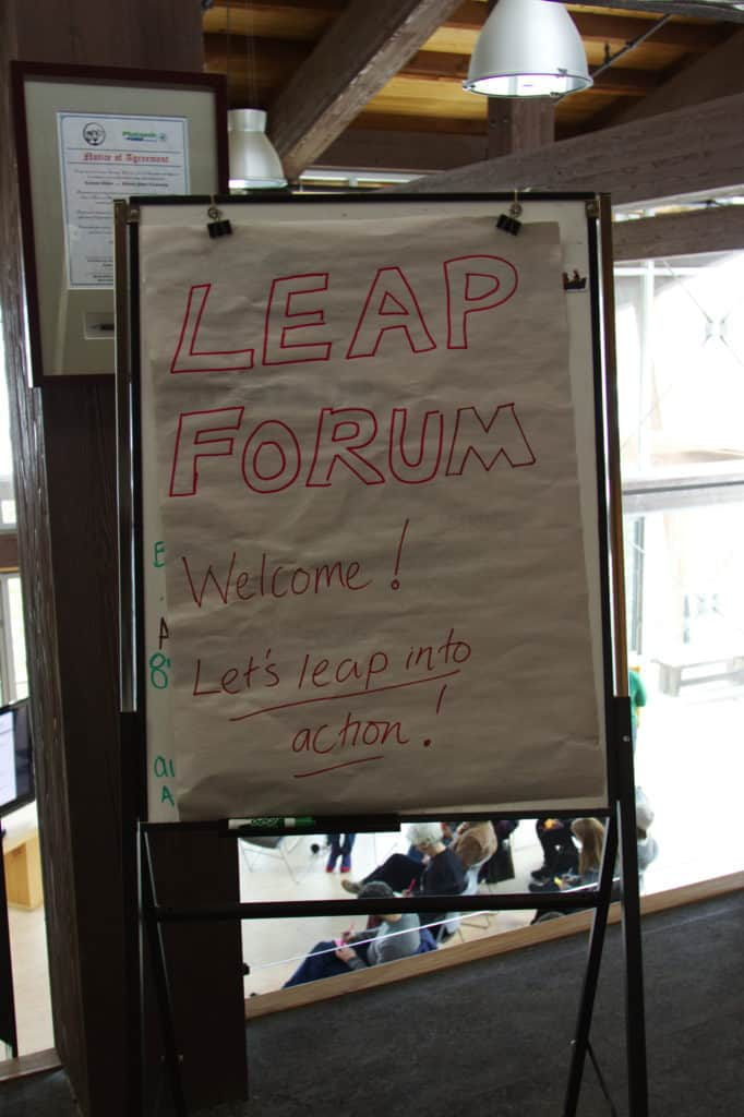 Leap Forum Sign
